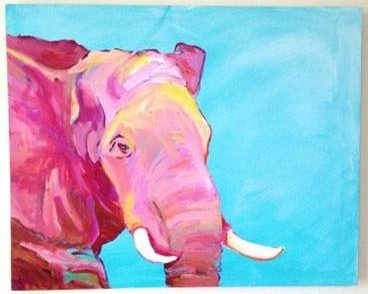 Summer's Pink Elephant